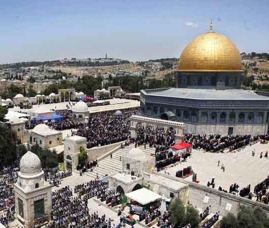 Natal wuro Jerisaalem (Al Quds)