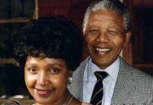 Winnii Mandelaa e jom galle mum Nelson Mandelaa