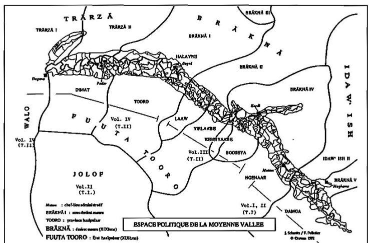 "Kartal Fuuta Tooro. Ittaa ko e deftere ""Florilège au jardin de l'histoire des Noirs Zuhur al Basatin"""