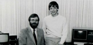Paul Allen e Bill Gates e kitaale 70